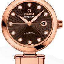 Omega WATCH DV LADYMATIC 34MM OMEGAAXIAL 8521 BROWN.DIAM
