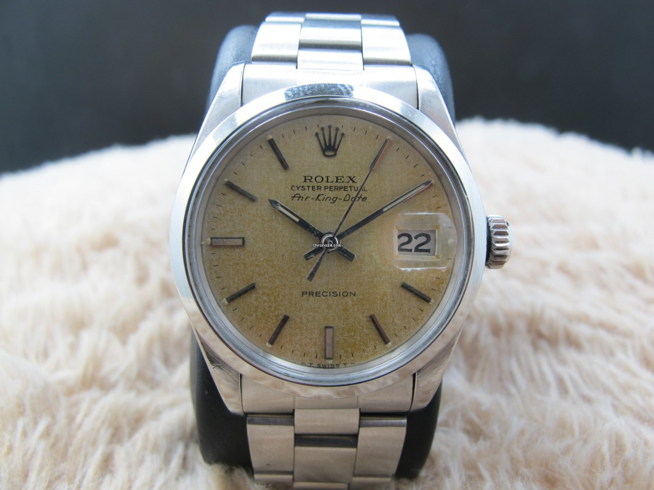 Rolex air king date 5700 original tropical texture dial for 5 500 for sale from a trusted for Rolex air king