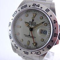 Rolex 16550  Explorer II   Cream Dial
