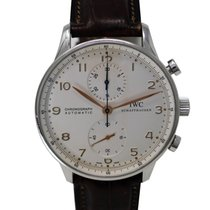 IWC Portuguese Chronograph Ref. IW371401 Automatic White dial