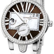Ulysse Nardin Executive Dual Time Lady new