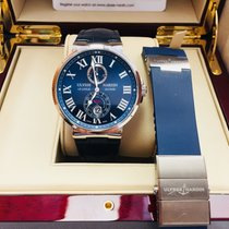 Ulysse Nardin Marine Chronometer 43mm Blue Dial