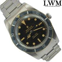 """Rolex Submariner 6536 """"James Bond"""" gilt tropical dial 1958's"""
