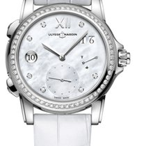 Ulysse Nardin Dual Time 3243-222B/390 - ULYSSE NARDIN  DUAL TIME LADY 67 diamanti new