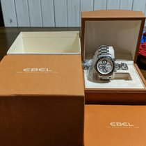 Ebel 1911 Discovery Staal 43mm Wit Geen cijfers