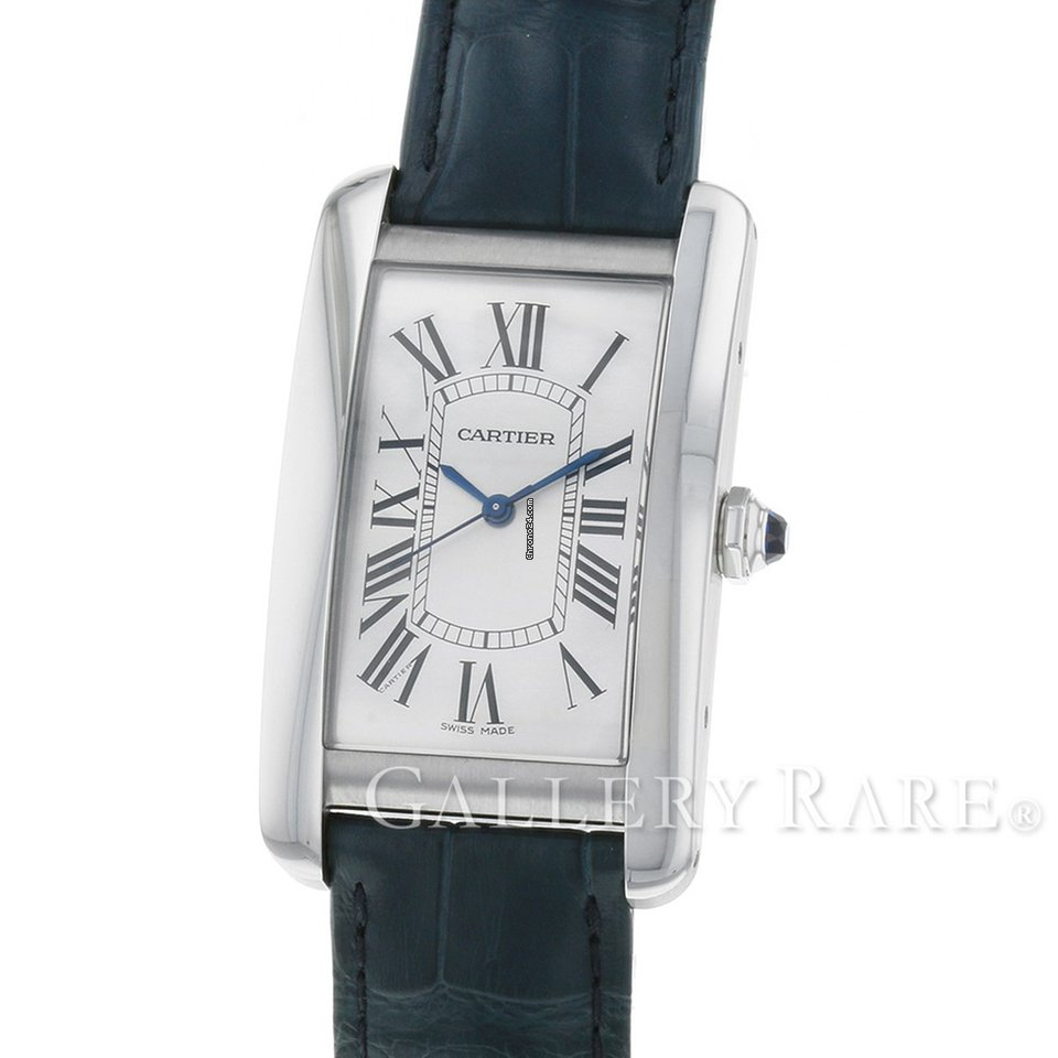 release date 6b200 1df35 Cartier Tank Américaine LM Stainless Steel 26.6MM