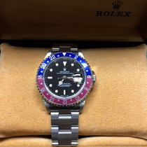 Rolex NOS GMT-Master Pepsi Blue and Red Steel - 16700