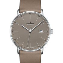 Junghans FORM A 027/4832.00 JUNGHANS FORM A pelle taupe new