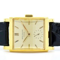 Patek Philippe Vintage Yellow gold 39mm Champagne No numerals