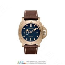Panerai Bronze Automatic Blue No numerals 47mm new