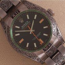 Rolex Milgauss tweedehands 40mm Staal