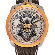 Bomberg Bolt 68 Samurai PVD Coated Stainless Steel Automatic...