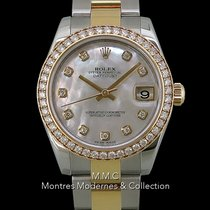 Rolex Lady-Datejust Or/Acier 31mm Nacre France, Paris