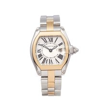 Cartier Roadster pre-owned 31mm Gold/Steel