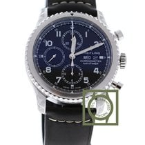 Breitling Navitimer 8 Chronograph 43 mm Day Date Black Dial...