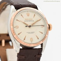 Rolex Bubble Back Gold/Steel 34mm Arabic numerals United States of America, California, Beverly Hills