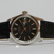 Rolex Oyster Perpetual Date Steel 34mm Black No numerals United Kingdom, Hampshire