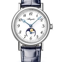 Breguet new Automatic Skeletonized Small Seconds White gold