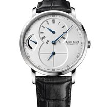 Louis Erard 40mm Manual winding new Excellence Silver