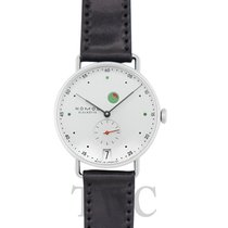 NOMOS Metro Datum Gangreserve new Manual winding Watch with original box and original papers 1101