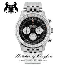 Breitling Navitimer 01 (46 MM) new Automatic Watch with original box and original papers AB0127211B1A1
