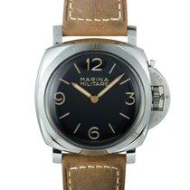 Panerai Luminor 1950 Acero 47mm Marrón Árabes