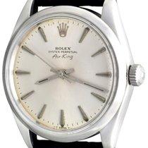 Rolex Air King Precision Steel 33mm Silver No numerals United States of America, Texas, Dallas