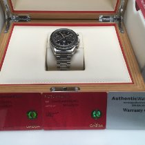 Omega Speedmaster Professional Moonwatch Moonphase Aço 44.25mm Preto Sem números