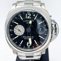 Panerai Luminor GMT Automatic Titanium 44mm Black Arabic numerals