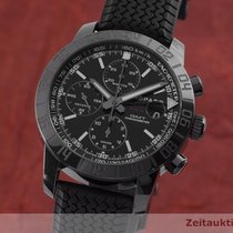 Chopard Steel Automatic Black 42.5mm pre-owned Mille Miglia