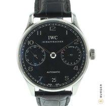 IWC Portuguese Automatic Steel 42.3mm Black Arabic numerals
