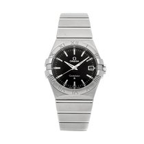 Omega Constellation Quartz Steel 35mm Black No numerals United States of America, Pennsylvania, Bala Cynwyd