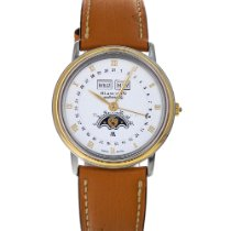 Blancpain Villeret Moonphase Gold/Steel 33mm White Roman numerals United States of America, Maryland, Baltimore, MD