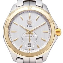 TAG Heuer Link Calibre 6 Gold/Steel 40mm Silver