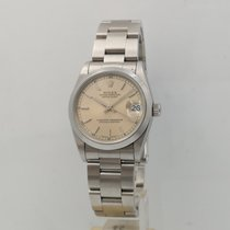 Rolex Lady-Datejust Staal 31mm Zilver Romeins