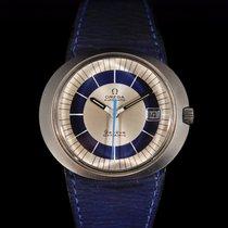 Omega Genève Acier 41mm Bleu Sans chiffres France, Paris