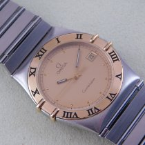 Omega Constellation Day-Date Gold/Steel 33,5mm White No numerals
