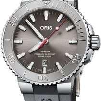 Oris Aquis Date Steel 43.5mm Grey United States of America, California, Moorpark