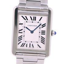 Cartier gebraucht Quarz 34.5mm Silber