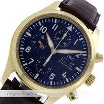 IWC Fliegeruhr Chronograph Day Date Gelbgold IW3717-13