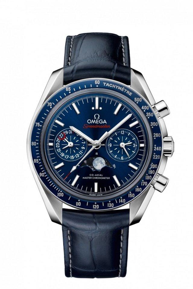 Omega Speedmaster Professional Moonwatch Moonphase 304.33.44.52.03.001 2021 neu