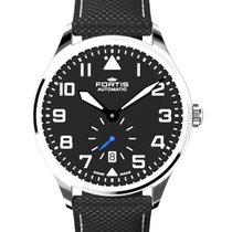Fortis Aviatis Pilot Classic Second 40mm Swiss Automatic Date...