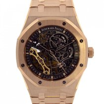 愛彼 (Audemars Piguet) Audemars Royal Oak Skeleton unworn 15407OR
