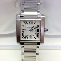 Cartier Tank Francaise W51002Q3 - Box & Papers 2007