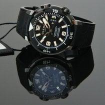 Clerc Chronometer 43,8mm Automatik 2017 neu Hydroscaph H1 Chronometer Schwarz