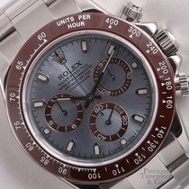 Rolex Daytona 116520 Cosmograph S/Steel 40mm Watch-Ice Blue...