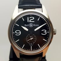 Bell & Ross BR123-95 ORIGINAL BLACK -Full Set 2012 + Service...