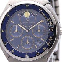 IWC Porsche Design Chronograph Moon Phase Titanium Quartz Watch