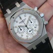 Audemars Piguet Royal Oak Chronograph 39mm 18k White Gold...