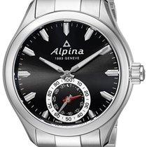 Alpina Horological Smartwatch Mens Calendar Quartz Black Dial...